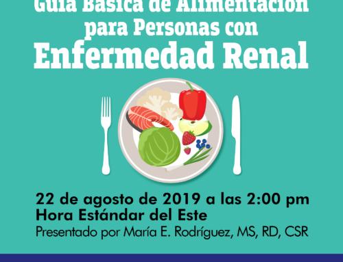 Guía Básica de Alimentación para Personas con Enfermedad Renal