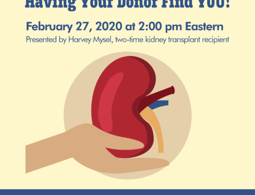 Having Your Donor Find YOU!