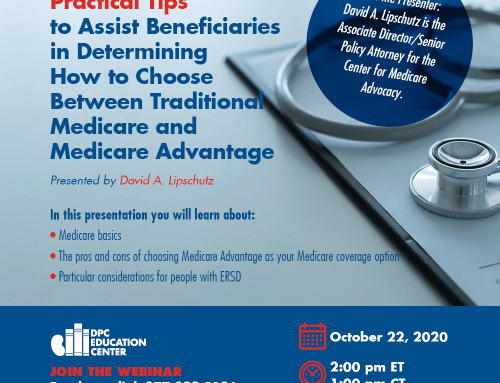 Practical Tips to Assist Beneficiaries in Determining How to Choose Between Traditional Medicare and Medicare Advantage