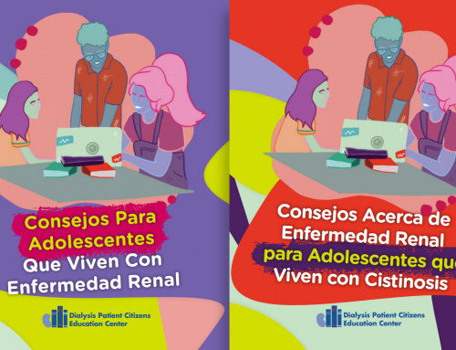 ESRD Teen Booklets Are Now Available in Spanish